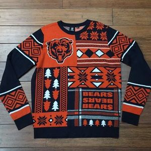Chicago Bears Christmas Sweater